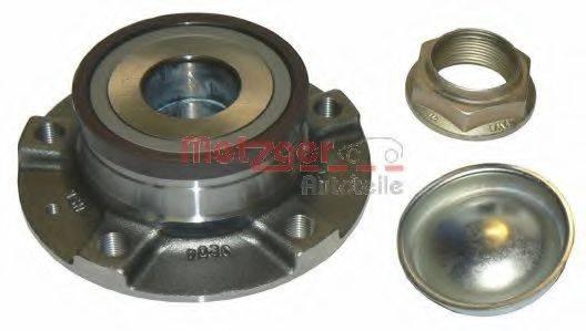 METZGER WM2108 Комплект подшипника ступицы колеса