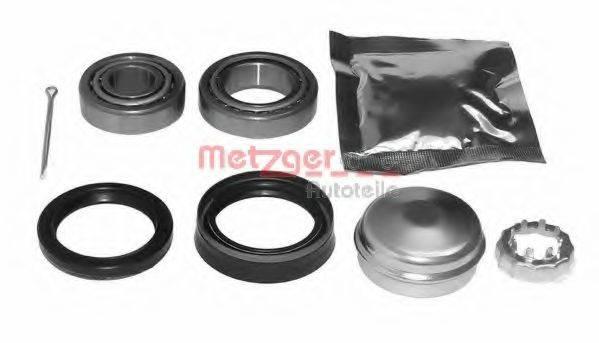 METZGER WM797D Комплект подшипника ступицы колеса
