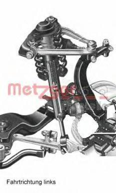 METZGER AUDIA2V Подвеска колеса
