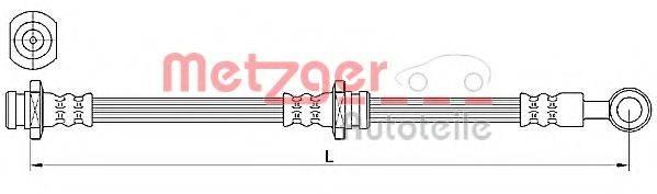 METZGER 4110639 Тормозной шланг