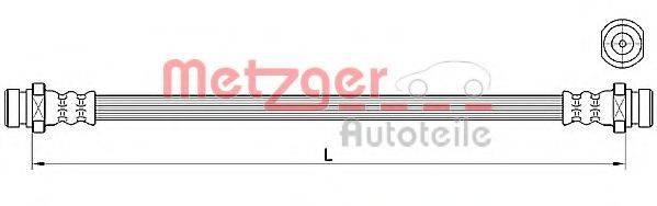 METZGER 4110640 Тормозной шланг