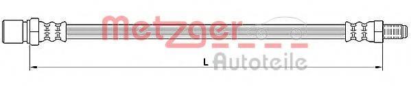 METZGER 4110641 Тормозной шланг