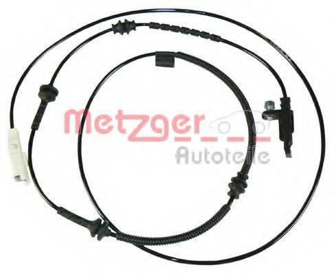 METZGER 0900540 Датчик, частота вращения колеса