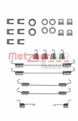 METZGER 1050656 Комплектующие, тормозная колодка