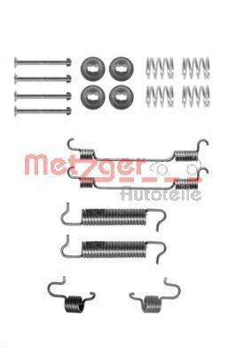 METZGER 1050780 Комплектующие, тормозная колодка