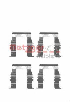 METZGER 1091194 Комплектующие, колодки дискового тормоза
