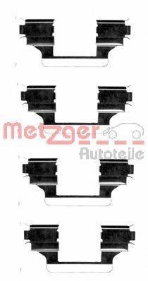 METZGER 1091656 Комплектующие, колодки дискового тормоза