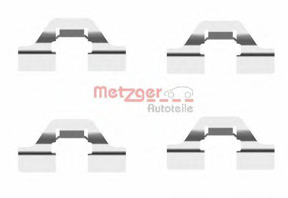 METZGER 1091684 Комплектующие, колодки дискового тормоза