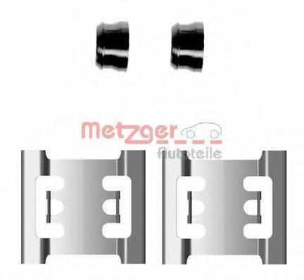 METZGER 1091688 Комплектующие, колодки дискового тормоза