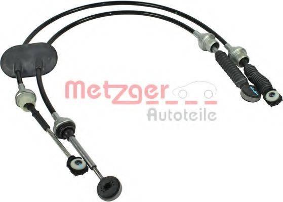 METZGER 3150073 Трос, ступенчатая коробка передач