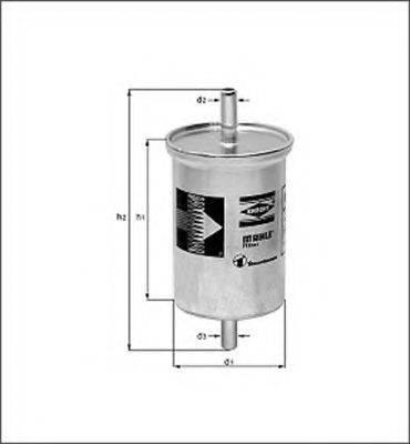 MAGNETI MARELLI 154098846440 Топливный фильтр