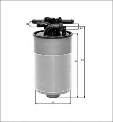 MAGNETI MARELLI 154098092940 Топливный фильтр