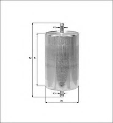 MAGNETI MARELLI 154076383640 Топливный фильтр